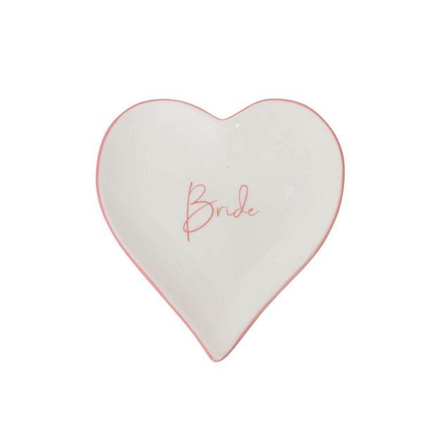 Splosh: Wedding Trinket Plate - Bride