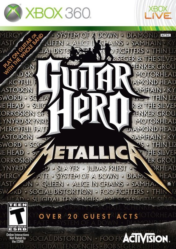 Guitar Hero: Metallica (Game only) for Xbox 360