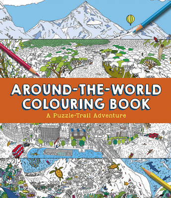 Around-the-World Colouring Book by Clive Gifford