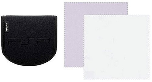 PSP Carry Case and Cloth for PSP image
