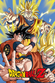 Dragon Ball Z: Maxi Poster - Super Saiyan Goku (454)