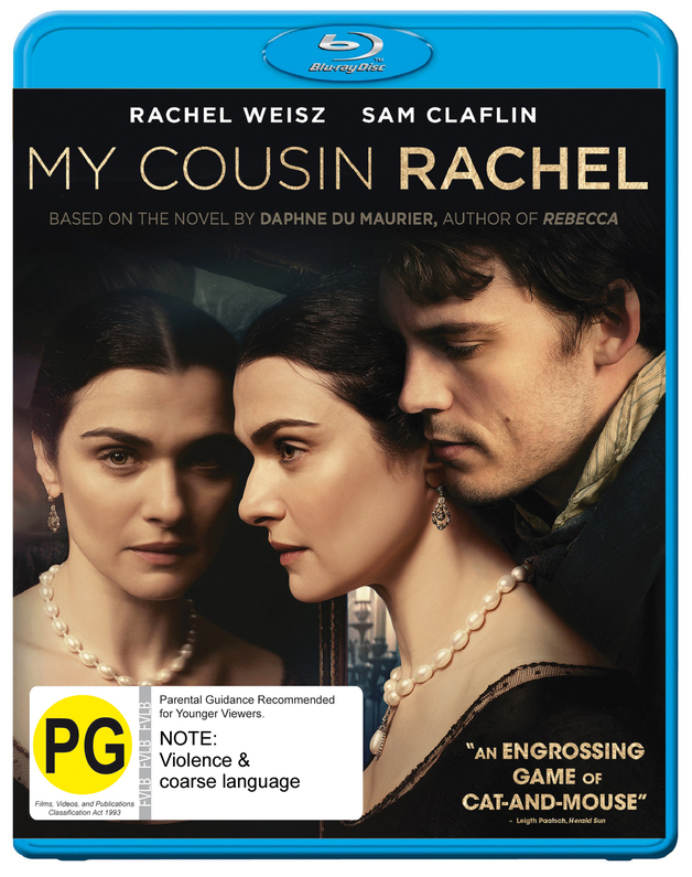 My Cousin Rachel on Blu-ray
