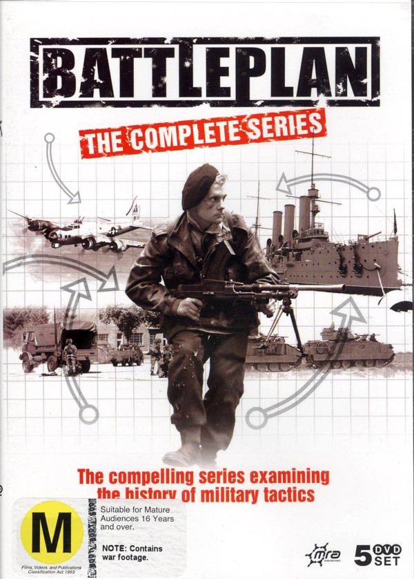 Battleplan - The Complete Series (5 Disc Box Set) on DVD image