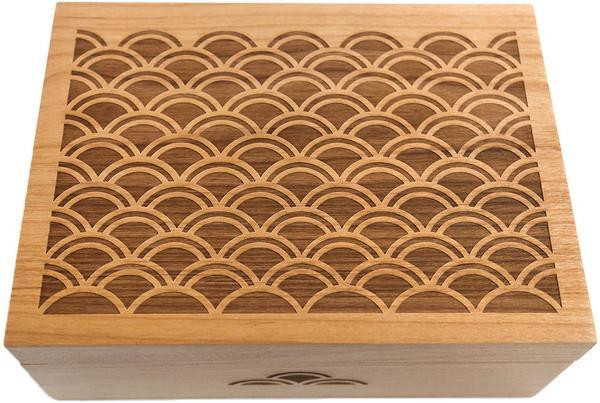 Cardtorial Wooden Box - Light Scallop image