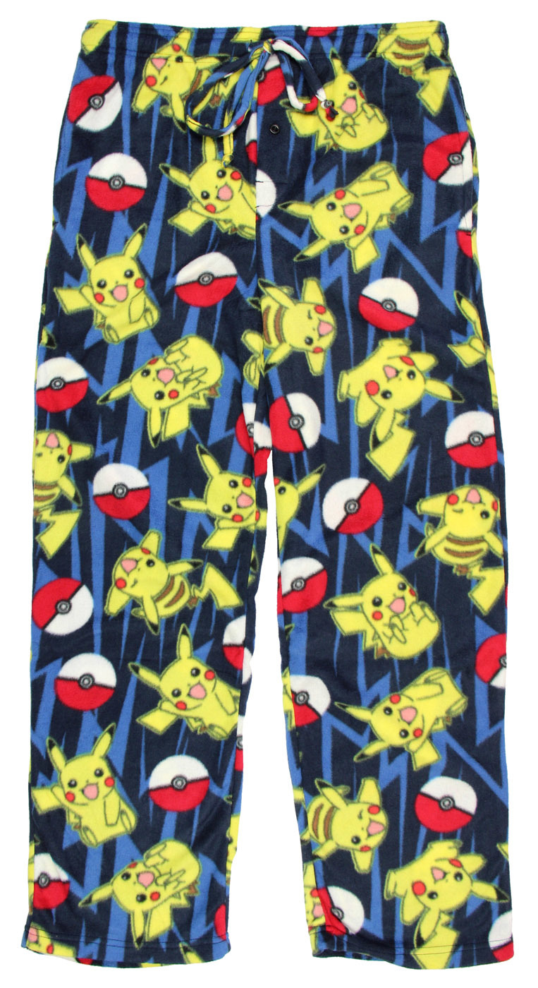 Pokemon: All Over Print - Microfleece Pants - (XL) image