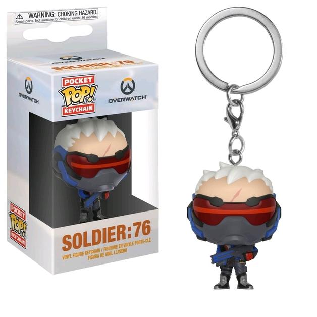 Overwatch - Soldier 76 Pocket Pop! Keychain