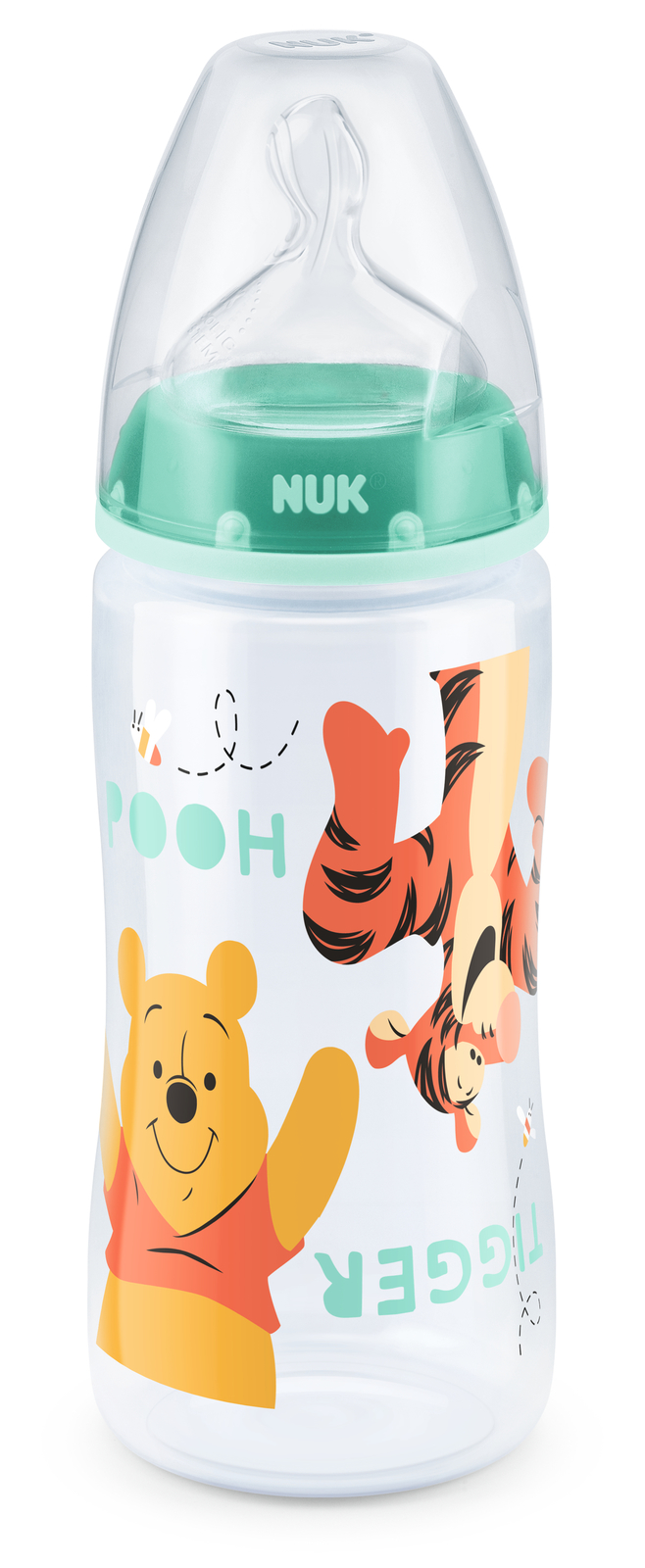 NUK: First Choice PP Bottle 300ml Silicone Teat - Winnie The Pooh (Assorted Designs) image