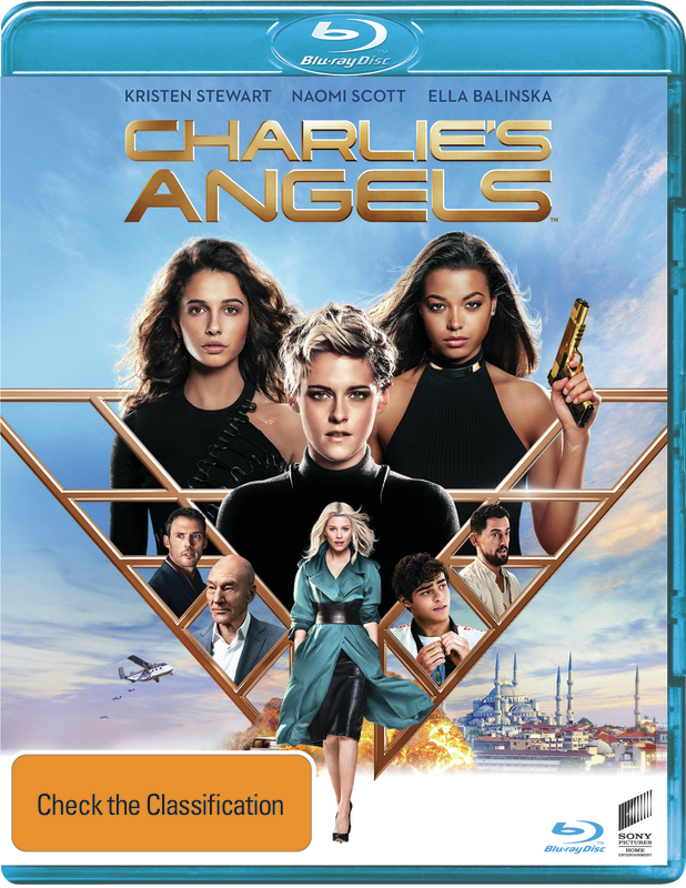 Charlie's Angels (2019) on Blu-ray