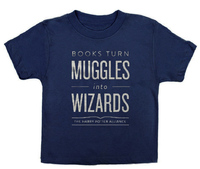 Books Turn Muggles Into Wizards Kids 4 Yr image