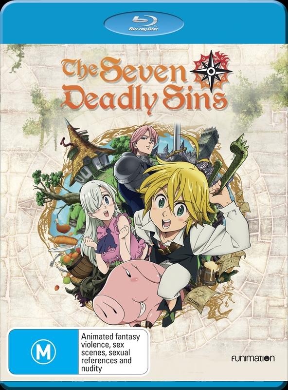 Seven Deadly Sins: Season 1 on Blu-ray
