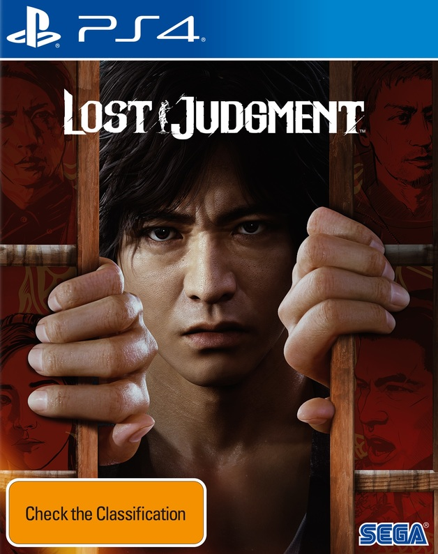 Lost Judgment for PS4