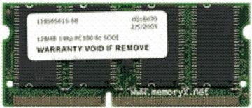 Acer 128MB PC133 RAM FOR ACER SODIMM