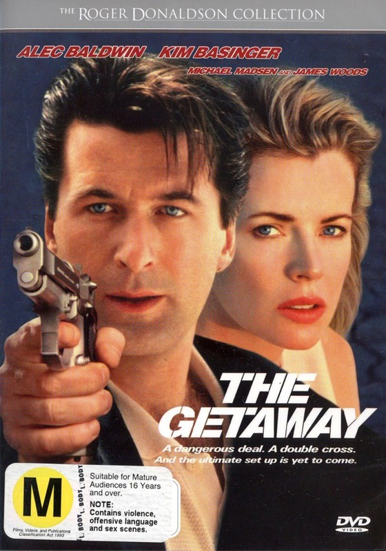The Getaway on DVD