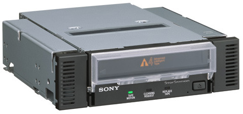 Sony AITI520 Int. SCSI 200-520GB AIT-4 Backup Kit includes: internal drive  media  cable   mounting rail  face plate