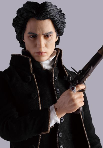 Ichabod Crane Johnny Depp Sleepy Hollow Sixth Scale Action Figure Medicom Toys