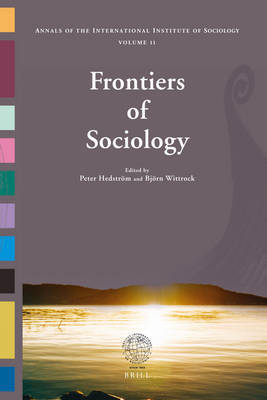 Frontiers of Sociology