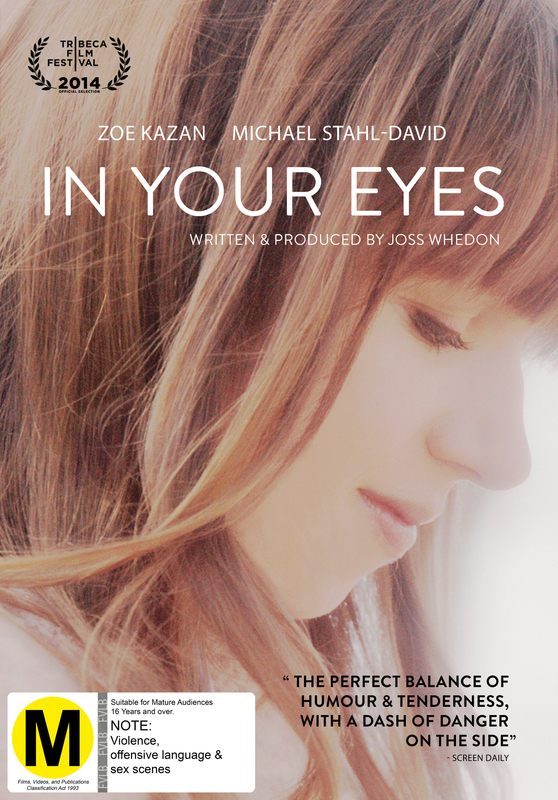 In Your Eyes on DVD