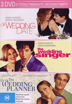 Wedding Date/ Wedding Singer/ Wedding Planner (3 Disc Set) on DVD