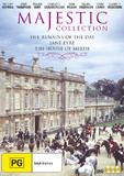 The Majestic Collection - Remains Of The Day / Jane Eyre / The House of Mirth DVD