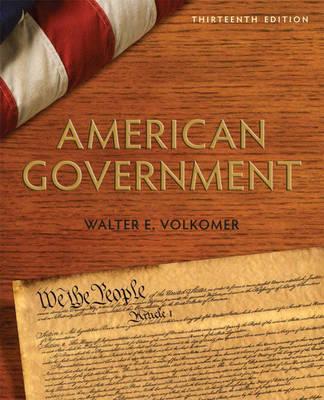 American Government by Walter E. Volkomer
