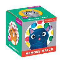 Mudpuppy: Cat's Meow - Mini Memory Match Game