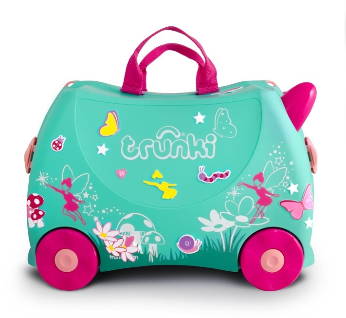 Trunki: Flora Fairy Trunki - Ride-On Suitcase image