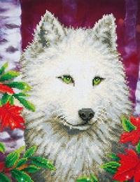 Diamond Dotz: Facet Art Kit - White Wolf