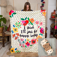 Natural Life: Cozy Blanket - Be Happy Today