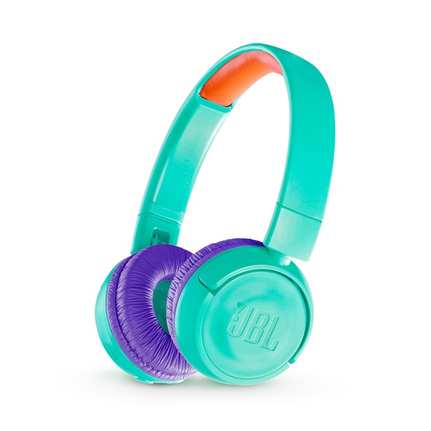 JBL JR300 Kids Bluetooth Headphones - Teal