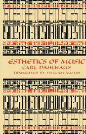 Esthetics of Music by Carl Dahlhaus image