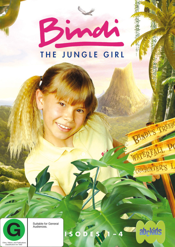 Bindi - The Jungle Girl on DVD
