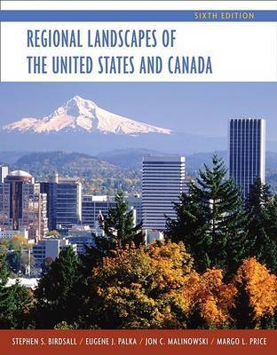 Regional Landscapes of the United States and Canada by Stephen S. Birdsall