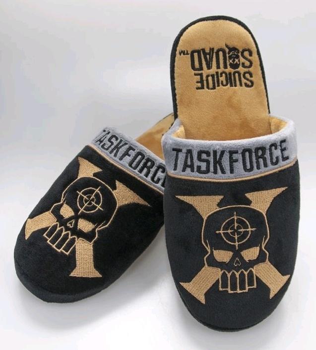 Suicide Squad - Taskforce X Slippers (UK 5-7) image