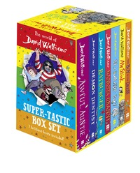 The World of David Walliams: Super-Tastic Box Set by David Walliams