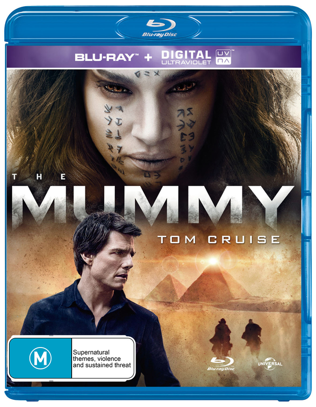 The Mummy (2017) on Blu-ray