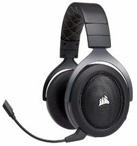 Corsair: HS70 Wireless Gaming Headset - Black for