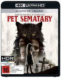 Pet Sematary (2019) (4K UHD + Blu-ray) on UHD Blu-ray