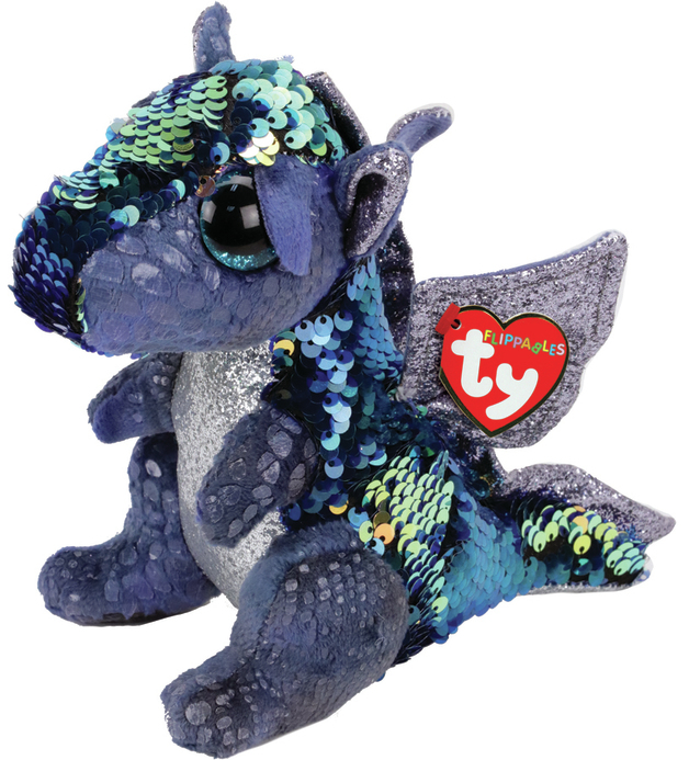 TY Beanie Boo: Flip Kate Dragon - Medium Plush