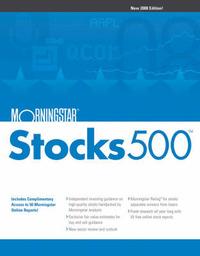 Morningstar Stocks 500: 2008 by Morningstar Inc. image