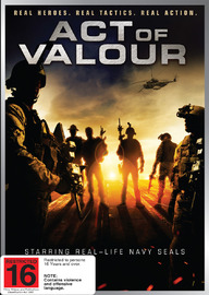 Act of Valour on DVD