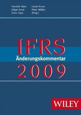 IFRS Anderungskommentar: 2009