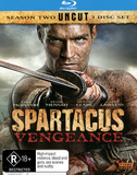 Spartacus Vengeance on Blu-ray