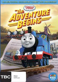Thomas and Friends: The Adventure Begins on DVD