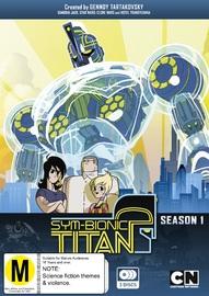 Sym-bionic Titan - The Complete Season 1 on DVD