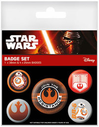 Star Wars: Join The Resistance - Pin Badge Set
