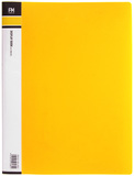 FM A4 10 Pocket Display Book - Yellow