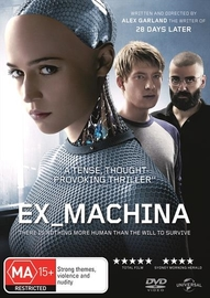 Ex Machina on DVD