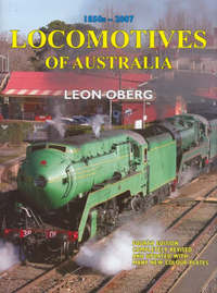 Locomotives of Australia by Leon Oberg image