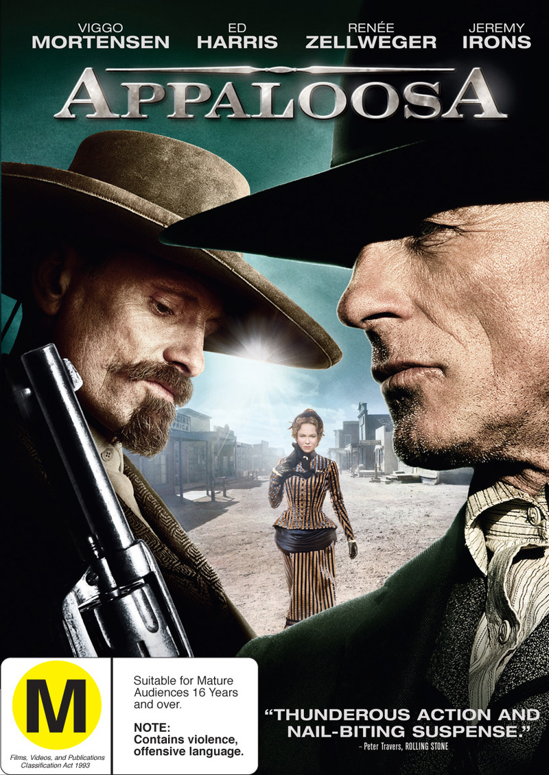 Appaloosa on DVD image