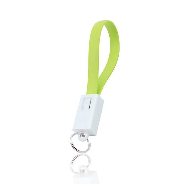 Mayhem Keyring Cable for iphone GREEN